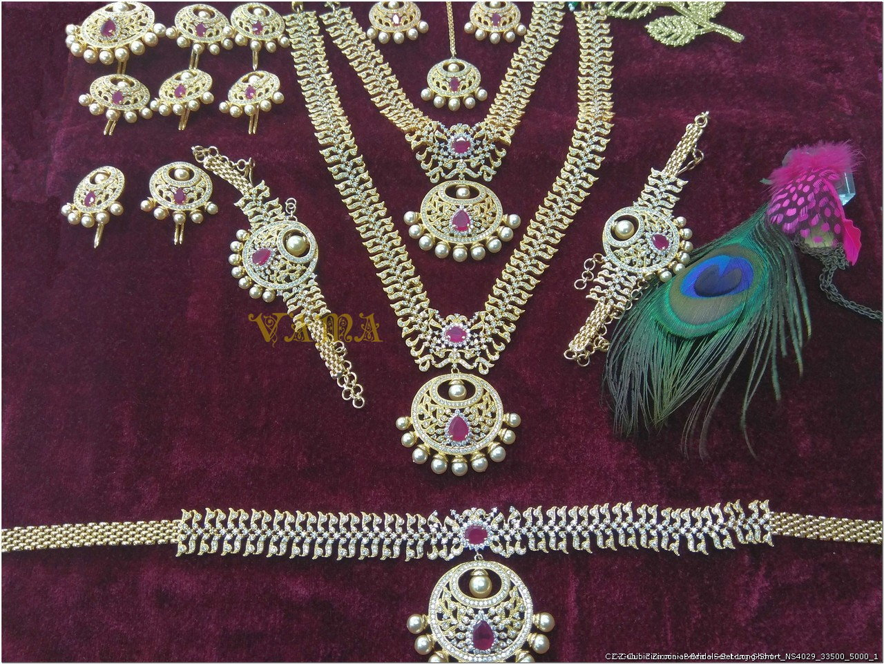 Bridal Ornaments Set Antique Bridal Jewellery Collection Jwell